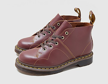 Dr. Martens Church Leather Monkey Boots Women's