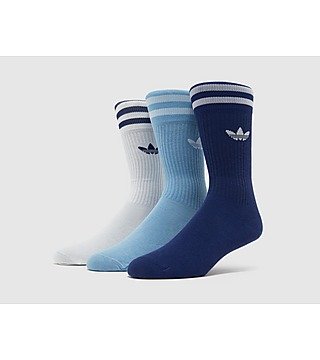 adidas 3 Pack Crew Sock