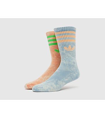 adidas Originals Tie-Dyed Socks (2 Pack)