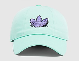green-adidas-originals-graphic-baseball-cap