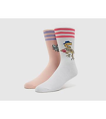 adidas Originals 2 Pack Dino Socks