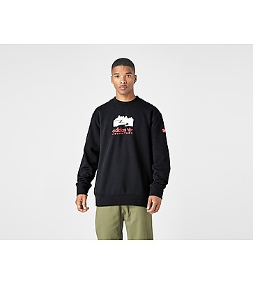 adidas Originals Adventure Logo Crew Sweatshirt