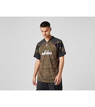 adidas Sport Leopard Print Football T-shirt