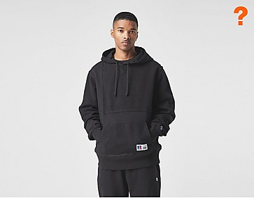 Russell Athletic Patchwork Hoodie - size? Exclusive