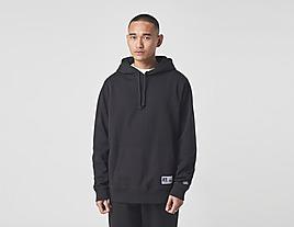 black-russell-athletic-rib-panel-hoodie