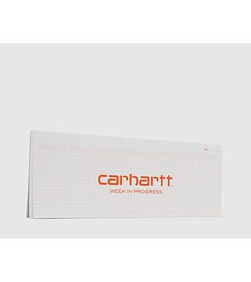 Carhartt WIP Week In Progress Planner