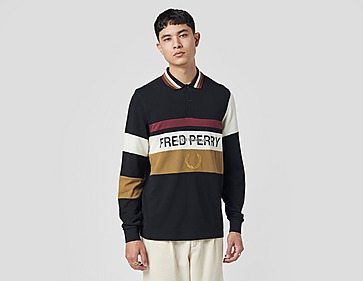 Fred Perry Longsleeve Contrast Polo