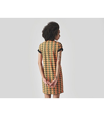 Fred Perry Amy Winehouse Houndstooth Pique Shirt Dress