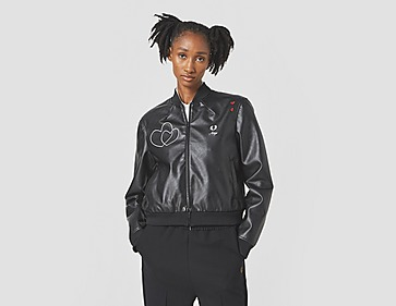 Fred Perry Faux Leather Bomber