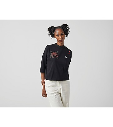 Fred Perry Amy Winehouse Embroidered High Neck T-Shirt