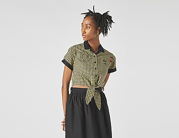 Fred Perry Amy Winehouse Gingham Tie-Front Shirt