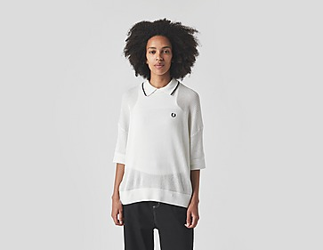 Fred Perry Amy Winehouse Tipped Collar Knitted Polo