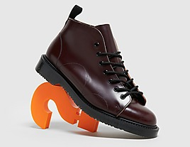 red-fred-perry-x-george-cox-leather-monkey-boot