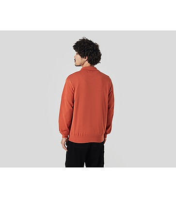 Stussy Colour Block Polo Sweater