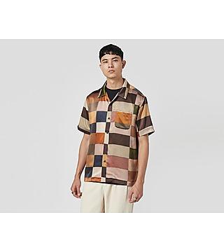 Stussy Painted Check Silk Shirt