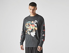 black-tommy-jeans-x-space-jam-long-sleeve-t-shirt
