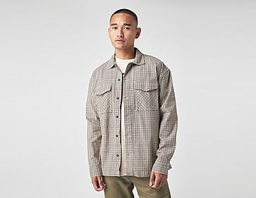 Tommy Jeans Tommy Badge Gingham Check Pocket Shirt