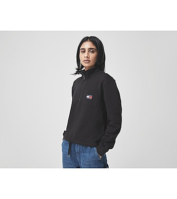 Tommy Jeans Relaxed Badge Quarter Zip