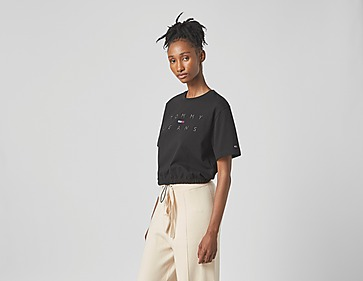 Tommy Jeans Crop Draw Cord T-Shirt