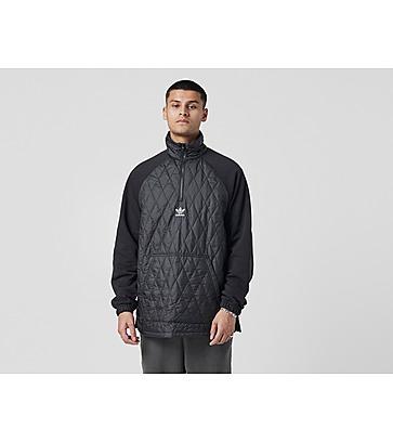 adidas Originals Quilted Half Zip Sweatshirt