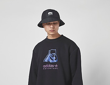 adidas Originals Adventure Big Logo Crew Sweatshirt