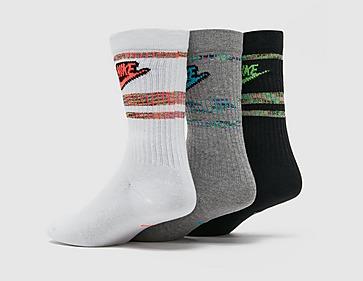 Nike 3PK NSW Crew Flash