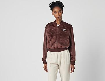 Nike Embroidered Velour Jacket