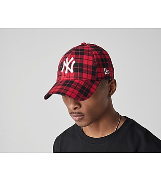 New Era 9FORTY New York Yankees Lumber Check Casquette