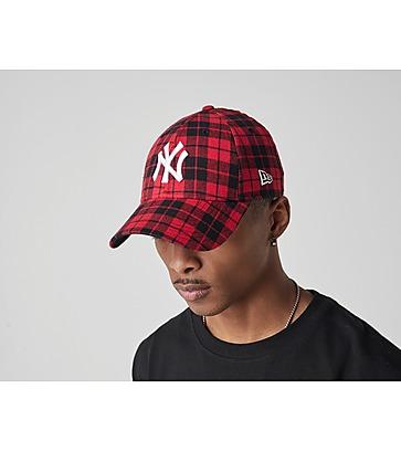 New Era 9FORTY New York Yankees Lumber Check Cap