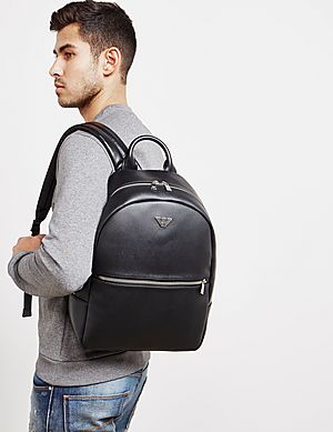 3d039a459 Emporio Armani Metallic Backpack Emporio Armani Metallic Backpack