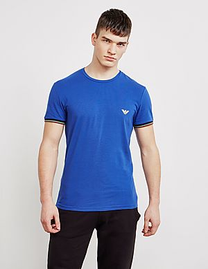 cbebfd037 Emporio Armani Cuffed Short Sleeve T-Shirt ...
