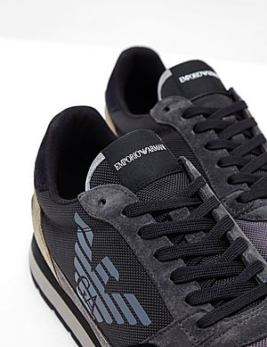 62113a64 Sale | Men - Emporio Armani Trainers | Tessuti