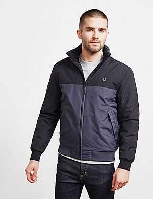 bf427af41 Fred Perry Colour Block Brentham Jacket - Exclusive ...