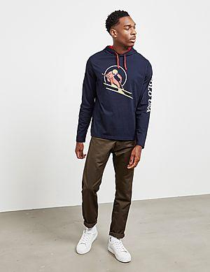 fbe47c74e ... Polo Ralph Lauren Ski Hooded Long Sleeve T-Shirt