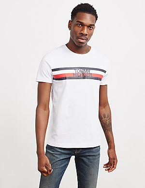 266314f4 Tommy Hilfiger Flag Logo Short Sleeve T-Shirt ...