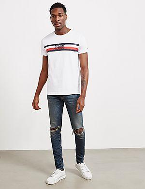 37c00cf7 ... Tommy Hilfiger Flag Logo Short Sleeve T-Shirt