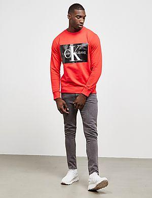 45d489eda Calvin Klein Monogram Logo Sweatshirt Calvin Klein Monogram Logo Sweatshirt