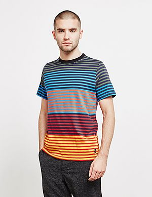 81f03e3ae PS Paul Smith Multi Stripe Short Sleeve T-Shirt ...