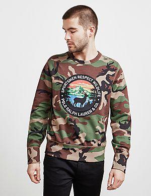 59b63cfb97eab Polo Ralph Lauren Outdoors Camouflage Sweatshirt Polo Ralph Lauren Outdoors  Camouflage Sweatshirt Quick Buy ...