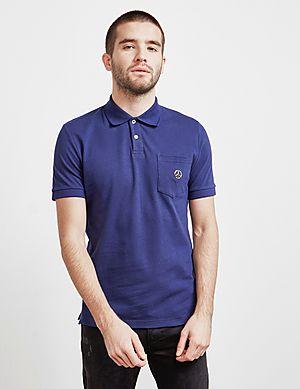 4d9cf1ad5 Love Moschino Peace Logo Short Sleeve Polo Shirt ...