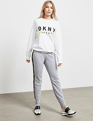 b98ac9329e72 DKNY Embroidered Logo Sweatshirt - Online Exclusive DKNY Embroidered Logo  Sweatshirt - Online Exclusive