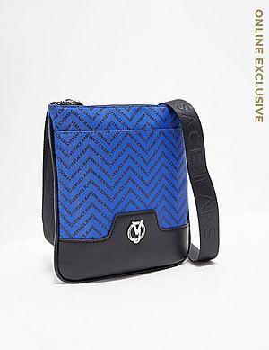 914f58364e Versace Jeans Couture Linea Chevron Small Item Bag ...