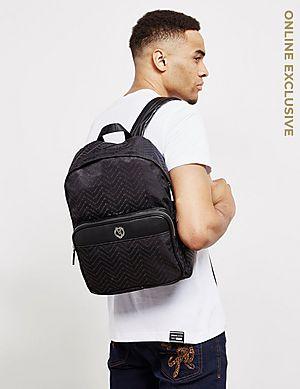 d19bcd2d22 Versace Jeans Couture Linea Chevron Backpack Versace Jeans Couture Linea  Chevron Backpack