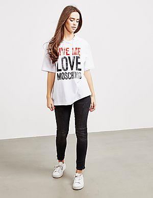 b31c8775b2 ... Love Moschino Give Me Love Short Sleeve Hoodie