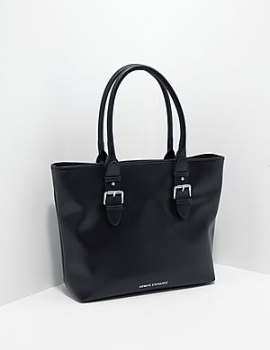 4ec37a38a9060e Armani Exchange Buckle Shopper Bag ...