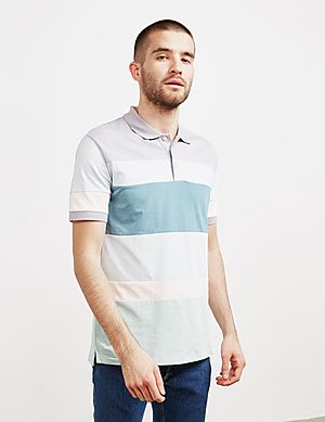 c893b773 PS Paul Smith Cut and Sew Short Sleeve Polo Shirt ...