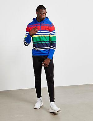 d8009ccdea0 ... Polo Ralph Lauren Stripe Hooded Long Sleeve T-Shirt