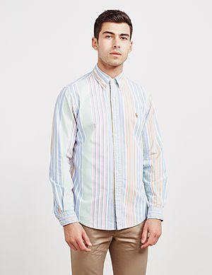 de1c0cf454 Polo Ralph Lauren Run Stripe Long Sleeve Shirt ...