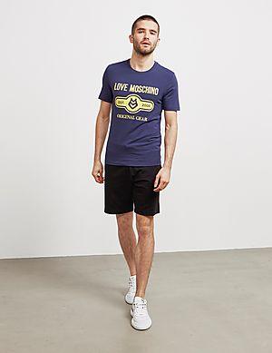 527e22cf77a885 ... Love Moschino Pill Gear Short Sleeve T-Shirt