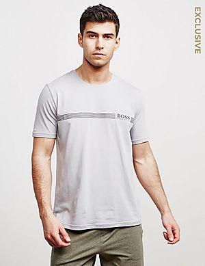 4a6e2d75e BOSS Line Logo Short Sleeve T-Shirt ...